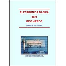 Libro: Electrónica Básica Para Ingenieros - Pdf