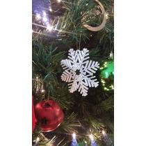 Apliques Y Adornos De Navidad Copo De Nieve En Mdf Crudo