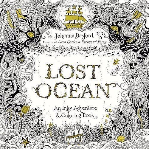Lost Ocean, Libro Océano Perdido, 80 Páginas, Para Colorear ...