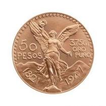 Centenario 50 Pesos Moneda Oro 37.5 Gr 24 Kt
