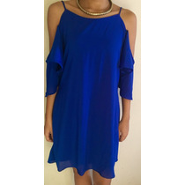 Vestidos Mujer Limonni Azul Rey Li362 Entrega 2 Dias!