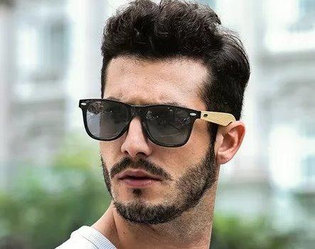 Óculos De Sol De Armação De Madeira Original Promoção Barato - R  79,90 em  Mercado Livre 554c923ac6