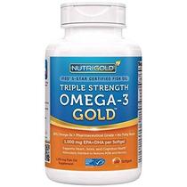 Nutrigold Triple Fuerza Pescado Omega-3 Suplemento De Aceite