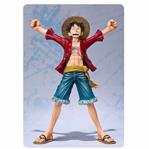 One Piece Monkey D Luffy Action Figure Anime New Word