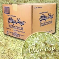Caramelo Palomitas Maíz Glaze Pop Gold Medal Caja 22.7 Kgs.