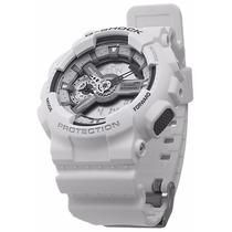 Relógio Casio G-shock Branco Ga-110c-7adr Resistente Choques