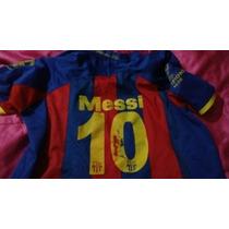 Playera Nike Fc Barcelona/10 Messi Chica/mediana