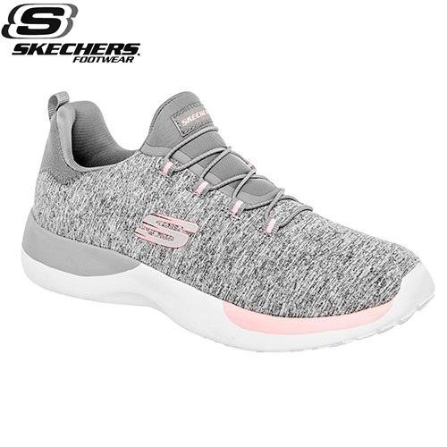 e8eec2c154648 Tenis Skechers Dynamight Running Mujer Gris 23-26 81306 -   1