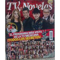 Revista Tv Y Novelas Con La Voz Mexico, Lucero En Español
