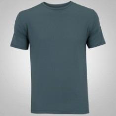 Camiseta Masculina Lisa Cinza 100% Algodão - R  20 6312fc1c9ca