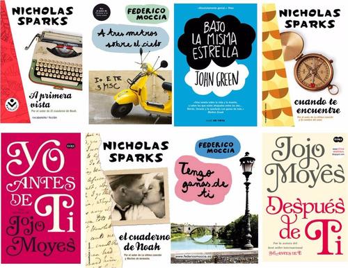Novelas Románticas Juveniles: Jojo Moyes, Nicholas Sparks