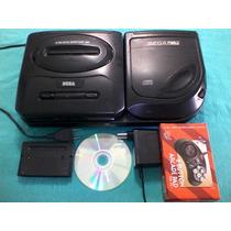 Mega Drive E Sega Cd Com Todos Acessórios Testados!