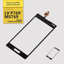 Touch Screen De Lg L9 P769 De T-mobile Y Pms769 Metro Pcs Us