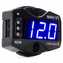 Voltímetro Mini Stetsom Medidor De Bateria Mini Vt