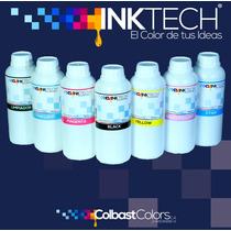 Tinta Inktech® Para Hp (1 Litro) Impresion Profesional