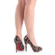 Peep Toe Feminino Lara - Color