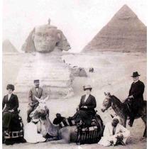 Lienzo Tela Fotografía Familia De Porfirio Díaz En Egipto