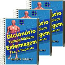 3 Pague 2 Dicionários Termos Médicos Enfermagem Terminologia