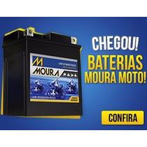Bateria De Moto Fan 125/150 Ks Sem Partida Eletrica 12v 4ah
