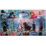 Kit De 6 Personajes Frozen De 10 Cm Ideal Para Tortas