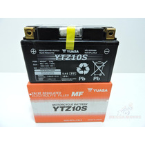 Bateria Moto Yuasa Ytz10s Cb600rr Hornet 2010 R1 Bmw Aprilia