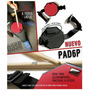 Goma Pad De Practica Base Modelo Pad6p Con Cinta Para Pierna