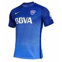 Nueva Camiseta Boca Juniors 2017 Azul Match Oficial