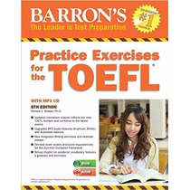 Practice Exercises For The Toefl With Mp3 Cd, 8th Edition (b