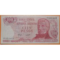 Billete De Cien Pesos D - 1 Billete