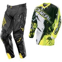 Traje Oneal Ansr Motocross S-30 Cuatrimoto Enduroatv Rzr Atv