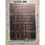 Placa Lápide Em Bronze 30x50 Cm Com 04 Nomes E Datas