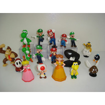 Mário Bros Princesa Peach Yoshi Luigi Toad Donkey Kong Dayse