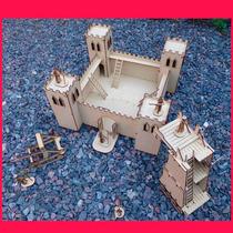 Fuerte Fibrofacil + Catapulta + Soldados + T De Asedio