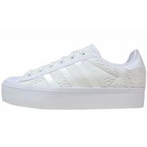 Zapatillas Adidas Superstar Rize Blancas Original Preg Stock