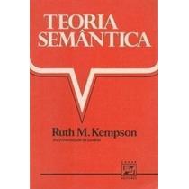 Livro Teoria Semântica Ruth M. Kempson