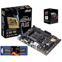 Kit De Actualización A4 6300 3.7ghz Asus Memoria 4gb Xpg