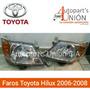 Faros De Toyota Hilux 2006/2008