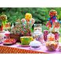 Junior Express, Topa Mesa De Dulces, Golosinas, Cupcakes