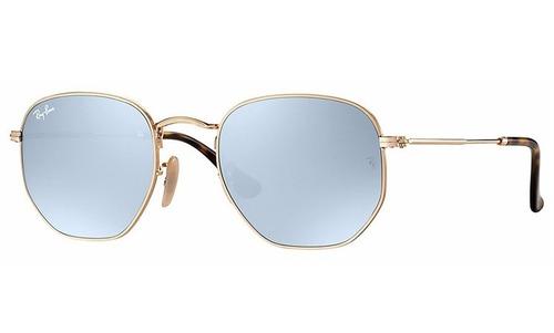 Óculos Ray-ban Hexagonal Rb 3548n 001 30 Nota Fiscal Tam. 54 - R  399,00 em  Mercado Livre cd70d0e7c3