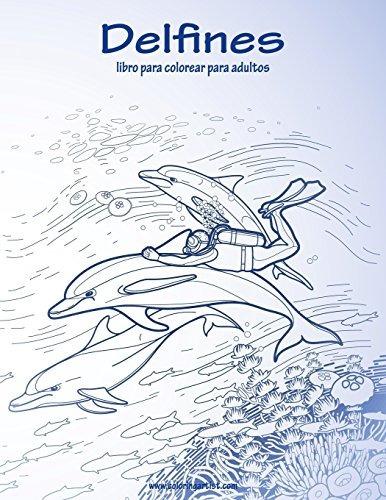 Libro : Delfines Libro Para Colorear Para Adultos 1 (volu... - $ 999 ...