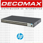 Switch Hp 1620-48g Jg914a 10/100/1000 1620 Gigabit - Decomax