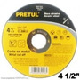 Disco Corte Metal Ultrafino 41/2 X3/64 X7/8 Pretul Tipo Cd