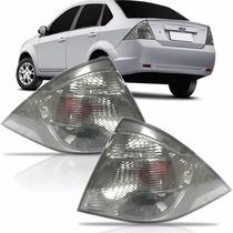 Lanterna Fiesta Sedan Fumê 2010 2011 2012 2013 Nova Ford