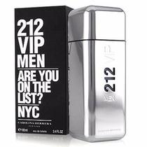 Perfume 212 Vip De Carolina Herrera 100 Ml !