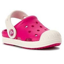 Crocs Niño Bump It Clog Kids Azul Y Blanco Candy Pink/oyster