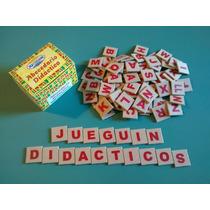 Pack 2 Cajas Abecedario Didactico 100 Letras