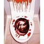 Zombie Sangre Decoración Adorno Halloween Para Baño Muertos