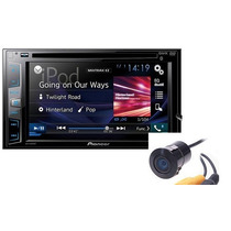 Stereo Doble Din Pioneer Avh285bt+camara De Regalo Zona Sur!