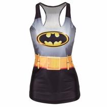 Playera Camiseta 3d Impresa Batman Batichica Superheroes