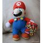 Super Mario Bros Kellytoy Nintendo 2004 Muñeco Plush 20cm.